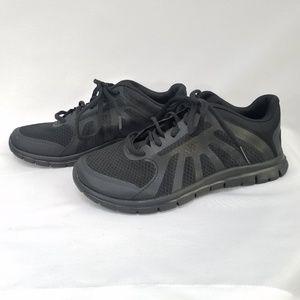 Champion Memory Foam Black Non-Marking Shoes 3